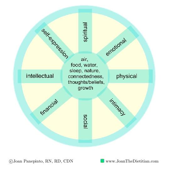 Joan's Wellness Wheel